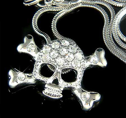 Hip Hop Skull Necklace