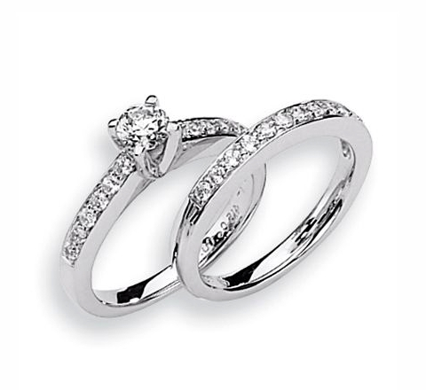 Platinum Bridal Set