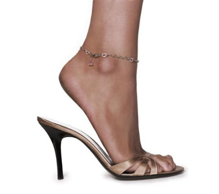 Silver Anklet by Paris Hilton